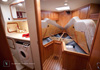 Bluewater 420 Raised Saloon | Forward Cabin V-berth With Ensuite and Washing Machine