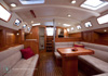 Bluewater 420 Raised Saloon | Saloon Looking Aft