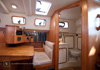 Bluewater 420 Raised Saloon | Nav / Aft Head – 2 Cabin Layout