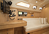 Bluewater 420 Raised Saloon | 'China Girl' Nav Station & Stb Settee