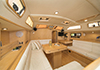 Bluewater 420 Raised Saloon | 'China Girl' Looking Fwd From Galley