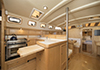Bluewater 420 Raised Saloon | 'China Girl' Galley With Chopping Board