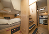 Bluewater 420 Raised Saloon | 'China Girl' Stb Double Cabin & Companionway Steps